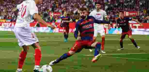 Piqué Barcelona Copa do Rei - Juan Medina/Reuters - Juan Medina/Reuters