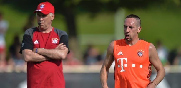 Ribéry desperta interesse do técnico Dorival Júnior