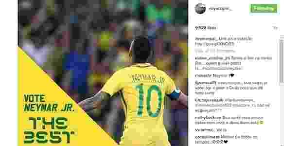 Pai faz campanha para Neymar - Reprodução/Instagram - Reprodução/Instagram