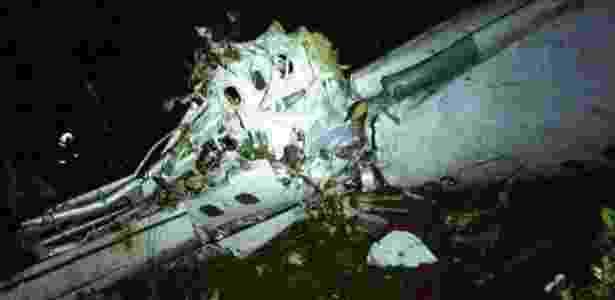 Avião Chapecoense acidente Colômbia Sul-Americana - Reprodução/Twitter - Reprodução/Twitter
