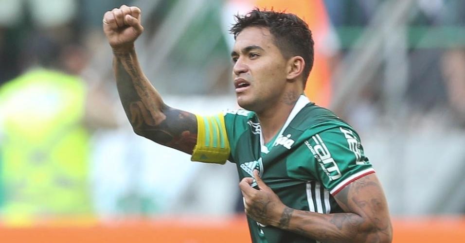 Dudu faixa de capitão Palmeiras