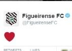 Com troca de emojis no Twitter, Figueirense anuncia acerto com Zé Love - Reprodução