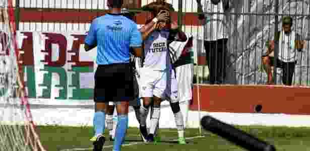 Fluminense comemora gol sobre Volta Redonda - Mailson Santana/Fluminense FC - Mailson Santana/Fluminense FC