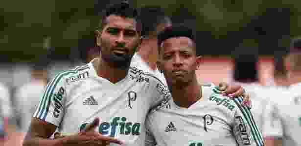 Thiago Santos Tchê Tchê Palmeiras - Cesar Greco/Ag. Palmeiras - Cesar Greco/Ag. Palmeiras
