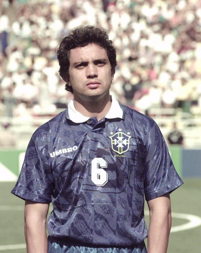 Branco, lateral esquerdo da seleção brasileira na Copa do Mundo de 1994