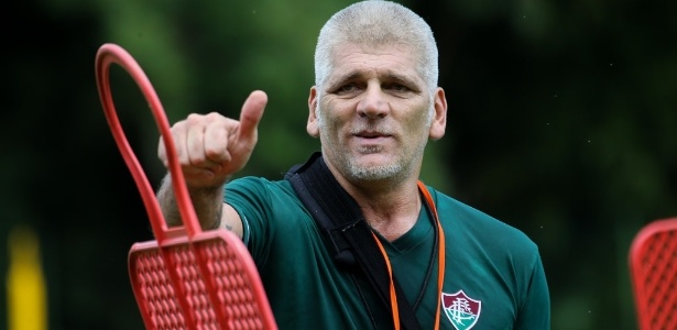 Percovich comanda o Fluminense sub-20 nesta tarde de sábado