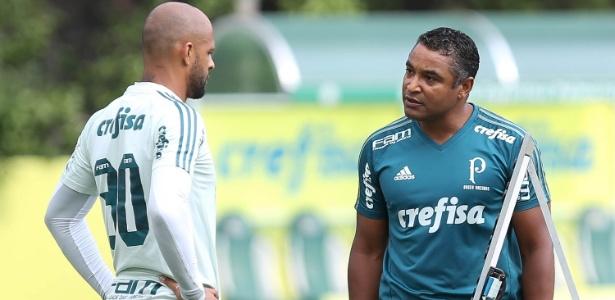 Se jogar e tomar amarelo, Felipe Melo não encara o Corinthians - Cesar Greco/Ag. Palmeiras/Divulgação