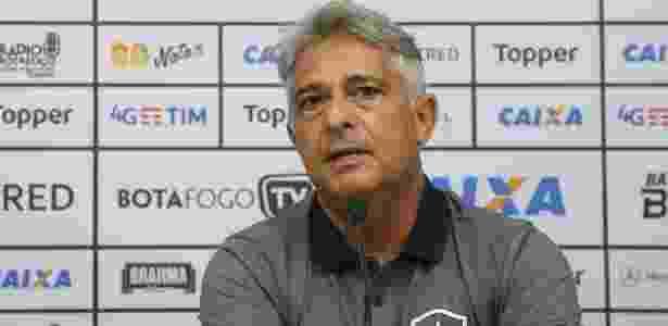 Marcos Paquetá foi apresentado como novo técnico do Botafogo - VITOR SILVA/SSPRESS/BOTAFOGO