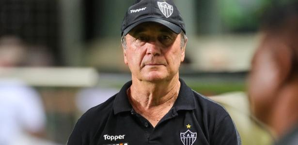 Treinador deu entrevista inspirada após a vitória do Atlético contra o Bahia - Bruno Cantini / Atlético-MG