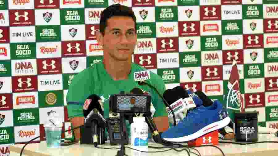 Paulo Henrique Ganso vai reencontrar Autori, com quem trabalhou no São Paulo - Mailson Santana/Fluminense