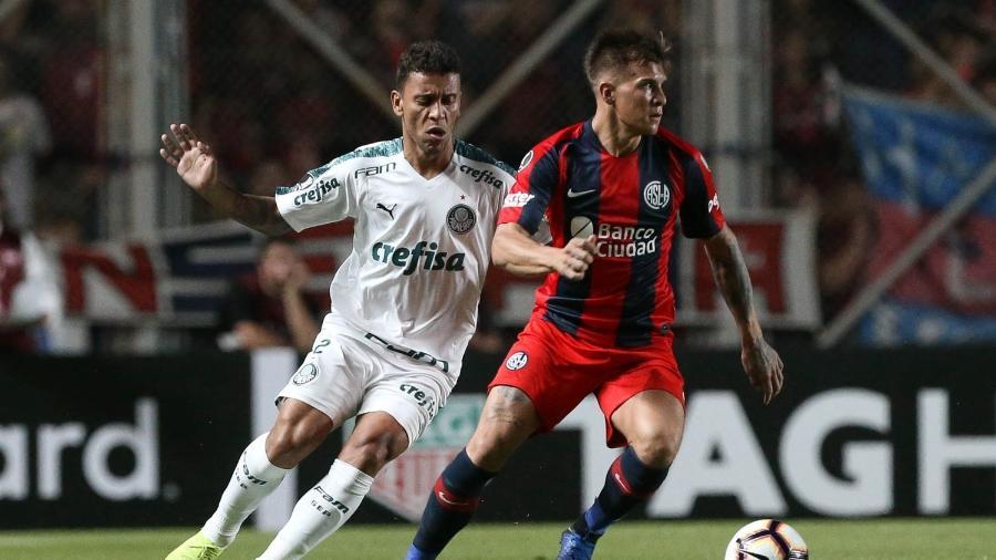 Palmeiras foi derrotado pelo San Lorenzo por 1 a 0 na Libertadores - Cesar Greco/Agência Palmeiras