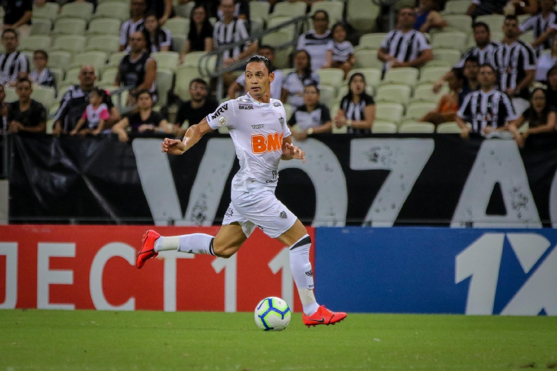 Atlético Mg Ricardo Oliveira é Vaiado Mas Mantém Respaldo