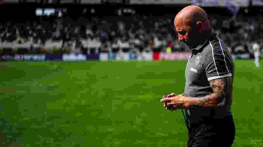 Contrato de Jorge Sampaoli com o Santos vai até dezembro de 2020 - Bruna Prado/Getty Images