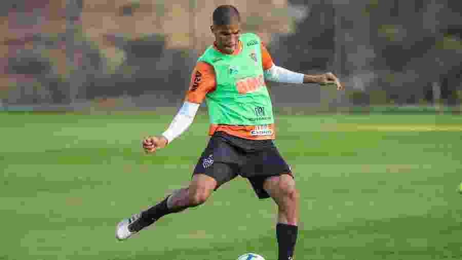 Leonardo Silva, zagueiro do Atlético-MG, está fora do jogo contra o Fortaleza - Bruno Cantini/Divulgação/Atlético-MG