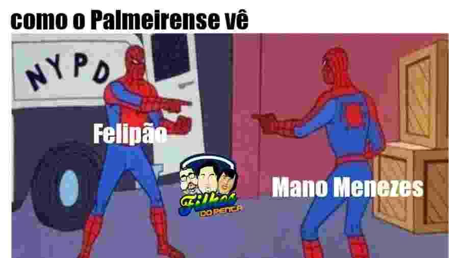Torcedores do Palmeiras reagem à contratação de Mano Menezes com memes - reprodução/Twitter