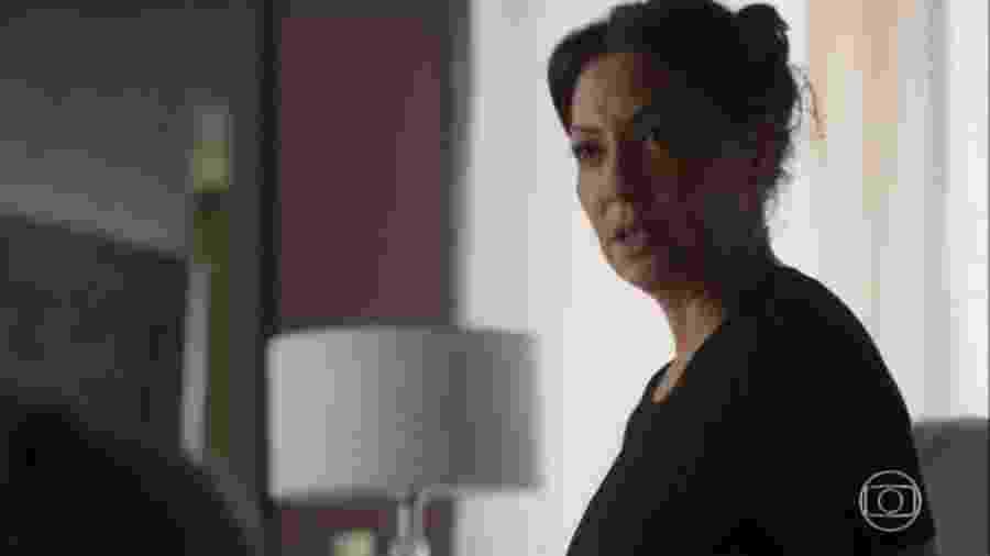 Naná (Fabíula Nascimento) descobre estar grávida em Bom Sucesso - Reprodução/TV Globo