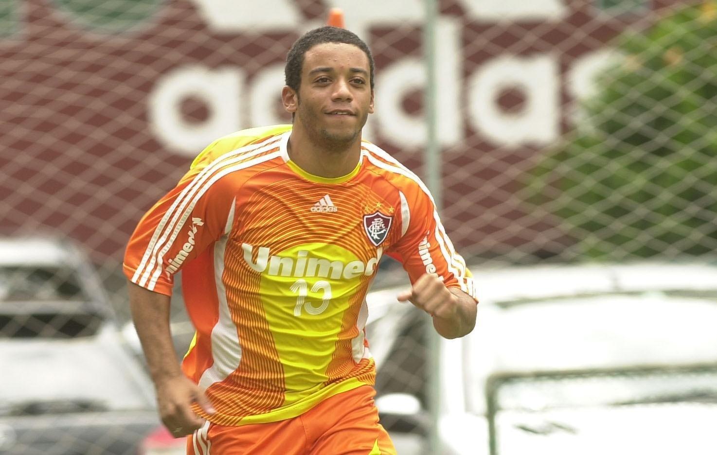 Marcelo com a camisa do Fluminense em 2006