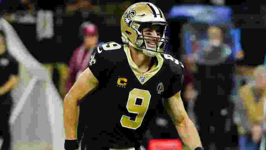 Drew Brees, atleta dos Saints - Derick E. Hingle / Usa Today Sports