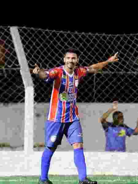 Diego Ceará, comemorando gol do Afogados-PE - Reprodução/Instagram