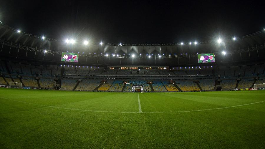 Maracanã recebe Bangu x Flamengo na volta do Campeonato Carioca - Thiago Ribeiro/AGIF