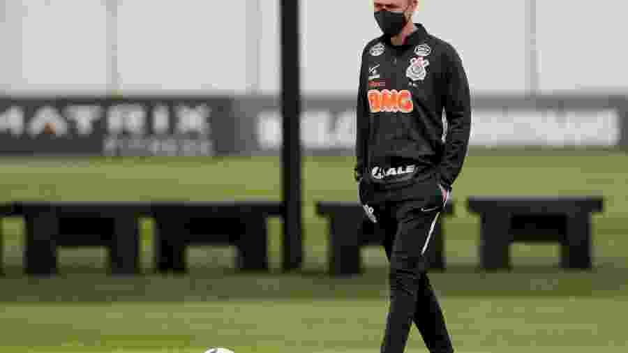 Técnico Tiago Nunes foi demitido em setembro; contrato terminaria no fim de 2020 - Rodrigo Coca/Agência Corinthians