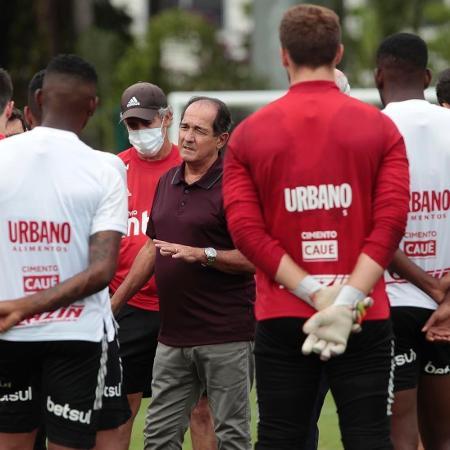 Muricy Ramalho, coordenador técnico do São Paulo - Rubens Chiri / saopaulofc.net