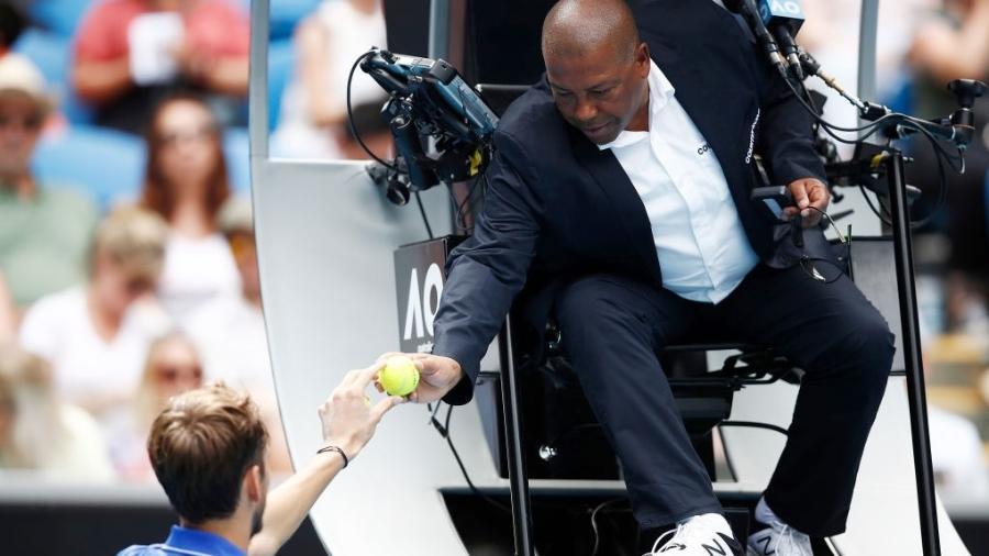 Carlos Bernardes, árbitro de tênis - Getty Images