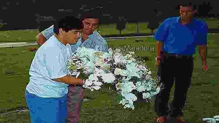 diez - Reprodução Facebook Diego Maradona - Reprodução Facebook Diego Maradona