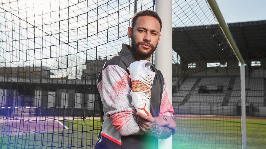 Nova chuteira da Puma usada por Neymar, Future Z Spectra Pack - Divulgação/Puma