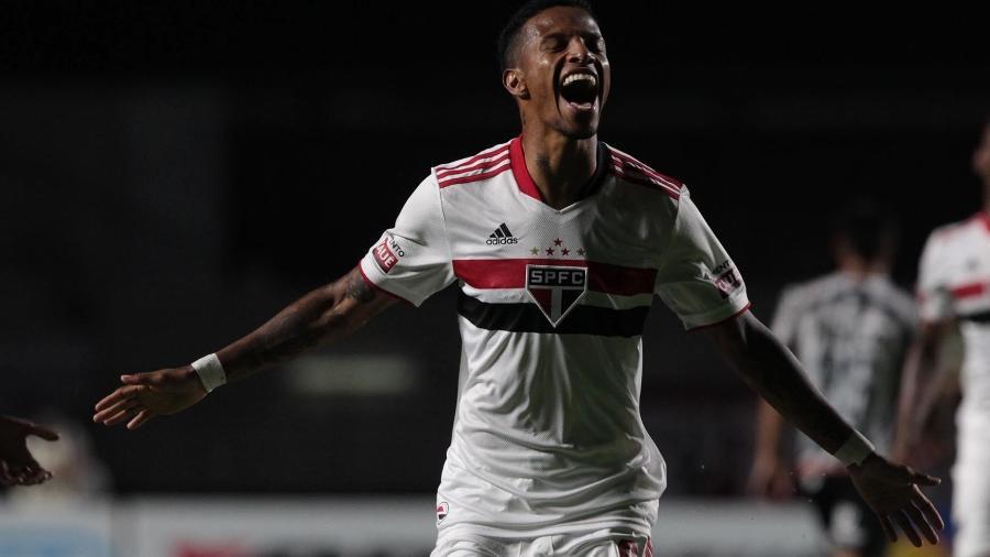 Tchê Tchê será emprestado pelo São Paulo e chega para ser reforço na segunda era Cuca no Galo - Rubens Chiri/São Paulo