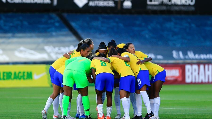 Seleção Brasileira feminina vence a Rússia em amistoso antes das Olimpíadas - Richard Callis/SPP/CBF