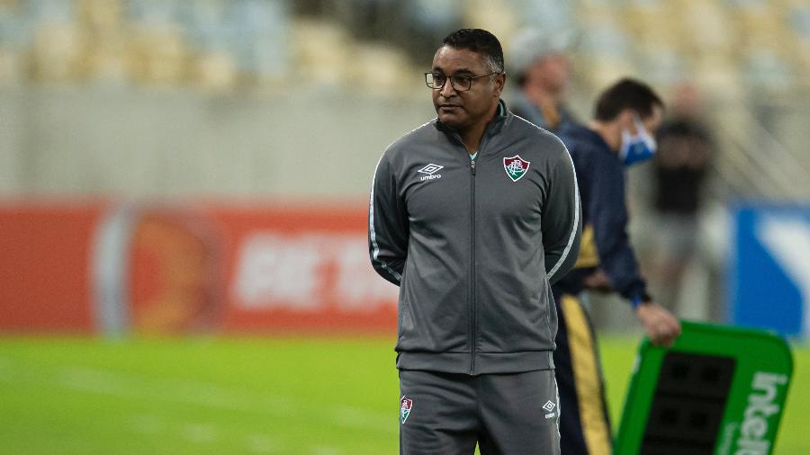 Roger quer focar no Brasileirão antes de pensar em enfrentar o Barcelona-EQU - Jorge Rodrigues/AGIF