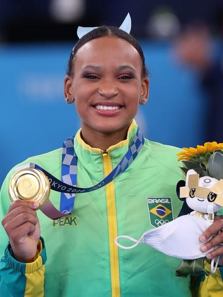 Rebeca Andrade é ouro no salto nas Olimpíadas de Tóquio - Ricardo Bufolin/CBG