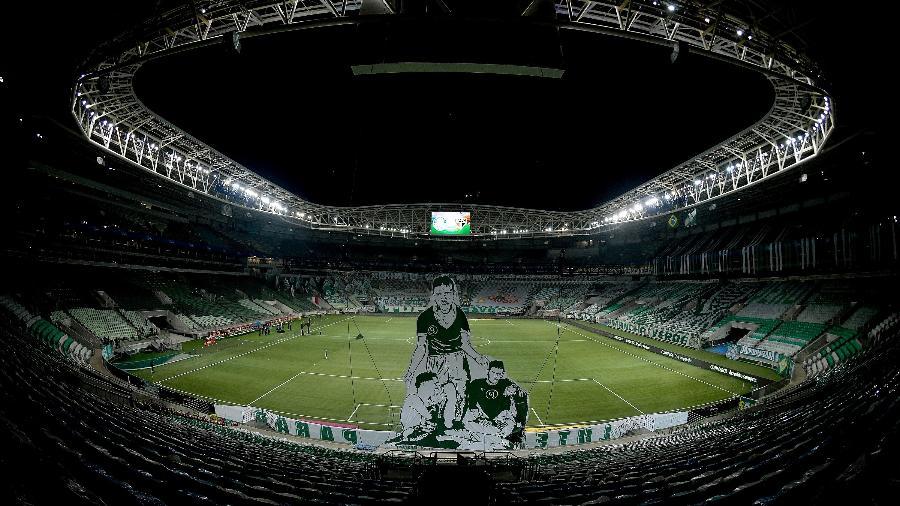 Allianz Parque, ainda vazio, para receber o duelo Palmeiras x São Paulo pela Libertadores - Staff Images / CONMEBOL