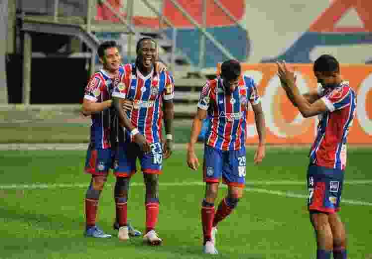 Rodallega comemora gol marcado contra o RB Bragantino, pelo Brasileirão - Jhony Pinho/AGIF - Jhony Pinho/AGIF