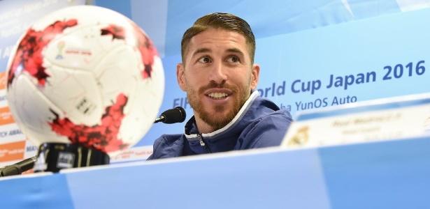 Sergio Ramos luta para ampliar seu histórico de títulos com a camisa do Real Madrid - AFP PHOTO / Toru YAMANAKA