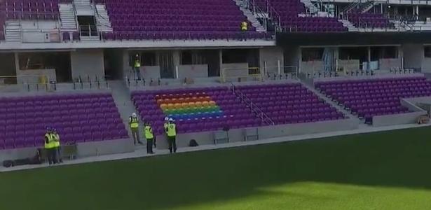 Novo estádio do Orlando City tem 49 assentos coloridos