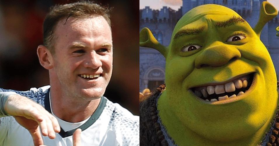 WAYNE ROONEY - Shrek