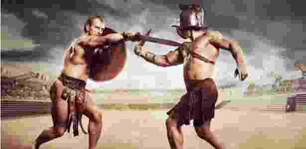 Luta de gladiadores estava em seu auge em Roma na época em que Jesus nasceu - Thinkstock