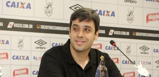 Euriquinho está confiante em um bom desempenho do Vasco no Brasileiro