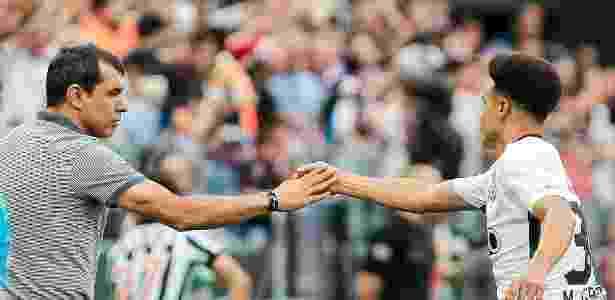 Carille aposta em Marquinhos Gabriel para a próxima temporada - Ale Cabral/AGIF