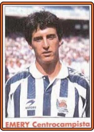 """UNAI EMERY, técnico do PSG, foi meia revelado pela Real Sociedad - na época em que era idêntico ao Al Pacino no filme """"Scarface"""""""