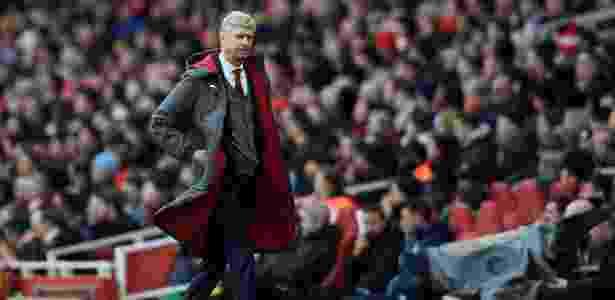 """Na semana passada, o técnico Arsène Wenger comunicou sua saída do comando técnico do Arsenal - Tony O""""Brien/Action Images via Reuters"""