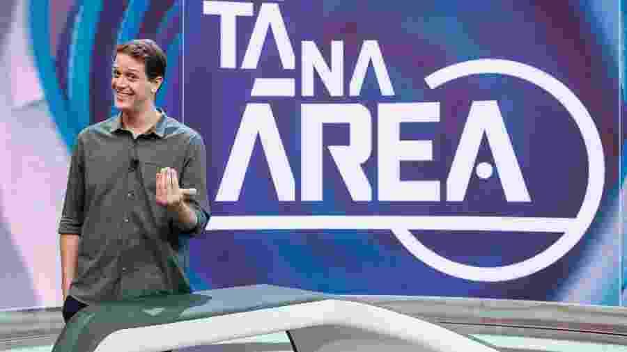 """Fred Ring no estúdio do """"Ta na Área"""", no Sportv: apresentador deixa canal esportivo da Globo após 4 anos - Divulgação/Sportv"""