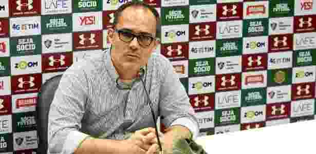 Fluminense pagou parte da dívida, mas segue devendo quatro meses de direito de imagem a atletas - Mailson Santana/Fluminense