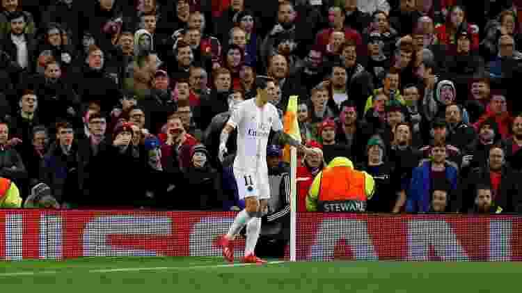 Caçado pela torcida, argentino foi decisivo nas jogadas dos dois gols do PSG - Phil Noble/Reuters