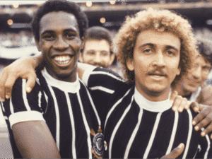 Ataliba e Biro-Biro durante passagem pelo Corinthians - Reprodução - Reprodução