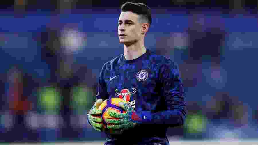 Kepa Arrizabalaga do Chelsea - Paul Childs/Reuters
