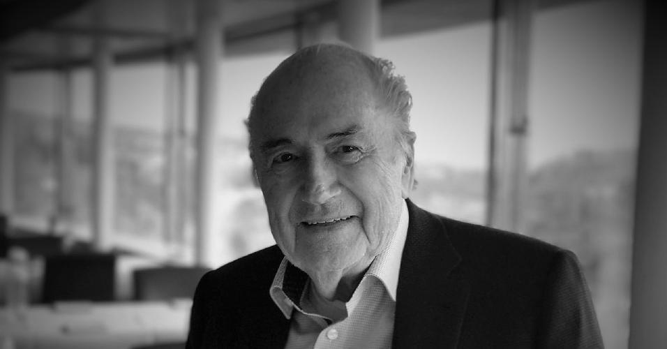 Joseph Blatter, ex-presidente da Fifa, em foto de abril de 2019