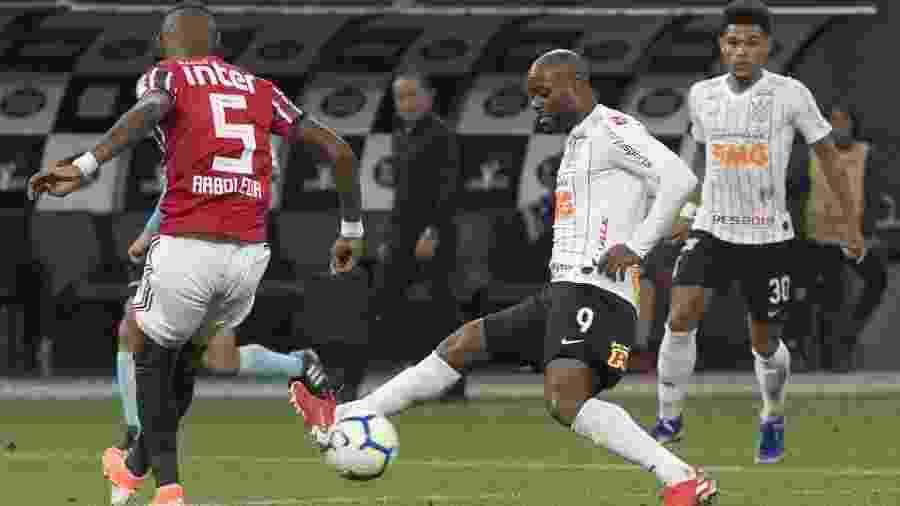 Vagner Love foi carrasco do São Paulo neste ano com o gol do título na final do Campeonato Paulista - Daniel Augusto Jr/Ag. Corinthians